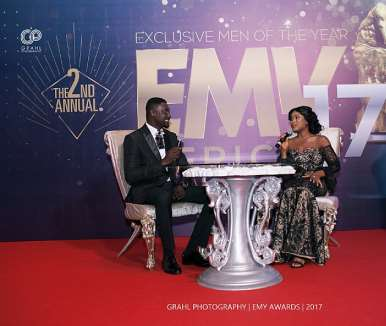Clement Owusu Kwakye, Ceo Of Exclusive Men Of The Year Being Interviewed By Berla Mundi