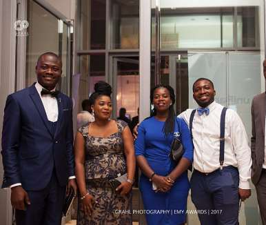 Julius Akyeampong, Manager Of Suzuki By Cfao With Colleagues From Cfao Ghana