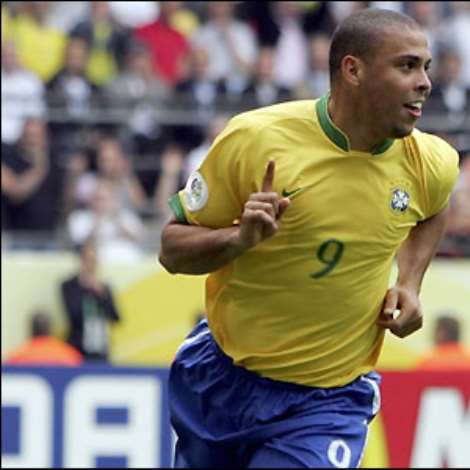 The goal is Ronaldo's 15th in World Cup finals - breaking German legend Gerd Muller's previous record