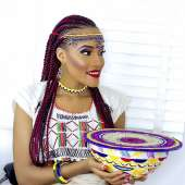 Nigerian Born Us Beauty Queen Krystal Okeke Dazzles In Fulani Attire
