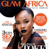 Photos Of Toke Makinwa For Glam Africa Magazine's Power Issue