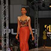 Sandra Ankobiah lights up Glitz Africa Fashion Week