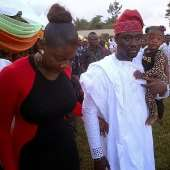 Mercy Johnson Donates Materials to 5000 Widows in Hubby's Home Town