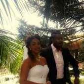 Charles Billion, Mimi Orjiekwe walk down the aisle