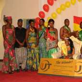 BEAUTY CONTEST 2010 HUMBURG GERMANY MR AND MISS GHANA