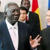 Prez Kufuor in Belgium, Egypt & Ethiopia