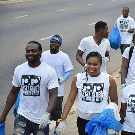 John Mensah Joins 2131 CLUBS On A Health Walk