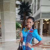 MISS GHANA RUNNER UP IN INDIA