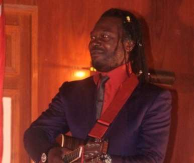 Levi Roots, celebrity enterprenuer and founder of reggae reggae sauce. - couresty of West Coast Photography
