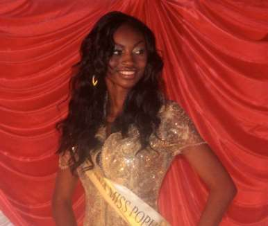 Miss Popularity and 2nd runner up; Yewande Abiodun