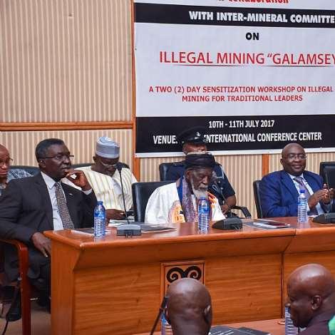Sensitisation Workshop On Illegal Mining