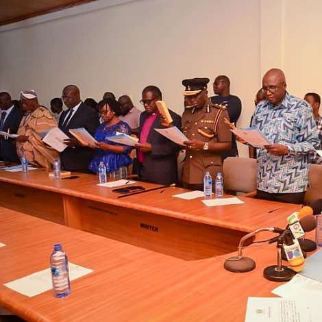 Inauguration Of The Ghana Prisons Service Council