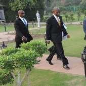 Amissah-Arthur Meets India's Veep On Ghana's Economy