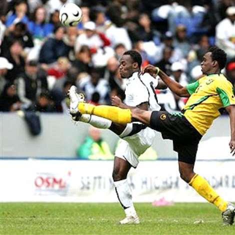 Ghana Vrs. Jamaica