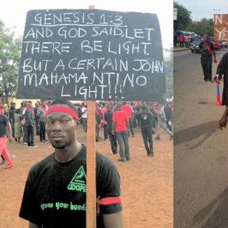 Yabr3 Demo in Kumasi