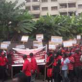 TRADERS, KAYAYE'S JOINED LABOUR DEMONSTRATION IN KUMASI