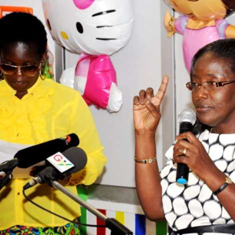 2nd Lady Donates To Chorkor Based NGO BASICS And Launches Kids Playing Centre At West Hill Mall