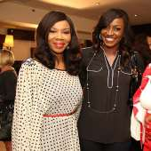 EbonyLife TV CEO, Mo Abudu hosts Bola Adesola and others