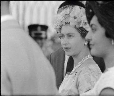 GHANA. Accra. Queen Elizabeth II on a state visit to Ghana. 1961.