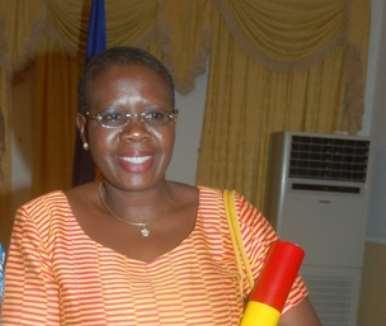 Ms Akua Dansua, Minister of Women and Children s Affairs