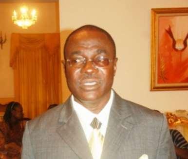Dr Joe Oteng-Adjei, Minister of Energy.