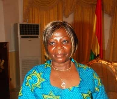 Mrs Juliana Azumah Mensah, Minister of Tourism.
