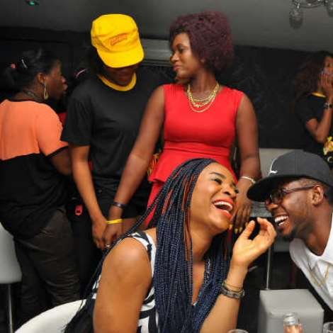 Don Jazzy, Tiwa Savage, Chidinma, Iyanya & Other Celebs At The Place Adeola Odeku, VI For The MTN Celeb Double Rave