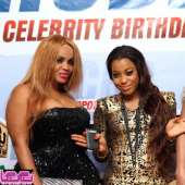 Cossy Orjiakor,L K T,Laide Bakare,Toyin Aimakhu at lee monthly celeb birthday party