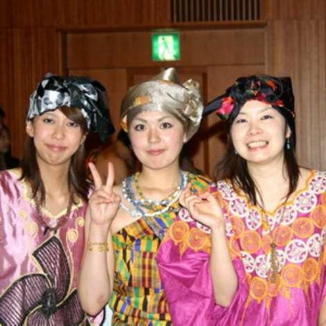 Japan Ladies in Ghana Culture