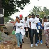 Yvonne Nelson Alexx Ekubo, Others Take Single Married Complicated To The Street