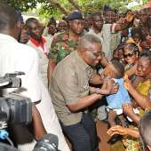 President Mills Visits Southern Part of The Volta Region