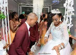 Ex Beauty Queen Iwuala Christabel Weds Her Long Time Heartthrob In Benin.