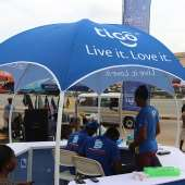 Photos: Tigo Staff Educate Customers On Their New Loyalty Promotion