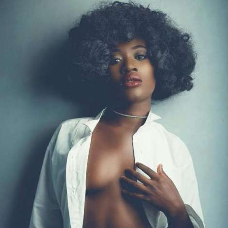 YOLO Actress Fella Makafui Shows Off Her Amazing Body