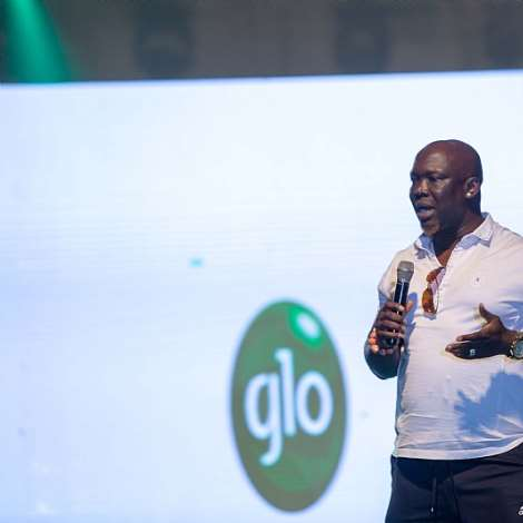 Comedian Bovi, Salvador, Basket Mouth Light Up Glo Lafftafest In Accra