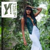 Queen Of The (Gold) Coast! Yvonne Nelson Shines On The Second Cover Of Y! Africa (PHOTOS)