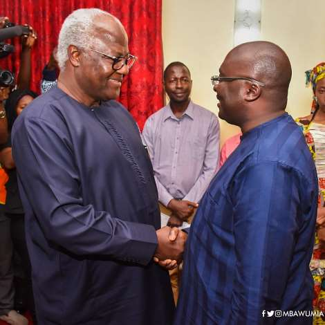Vice President Bawumia Hands Over $1m Relief Items To Sierra Leone