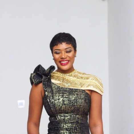 Eyebrow Raising Beauty Sandra Ankobiah Slays At Becca's Wedding In Exquisite Getup