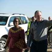 President Bush in Zambia