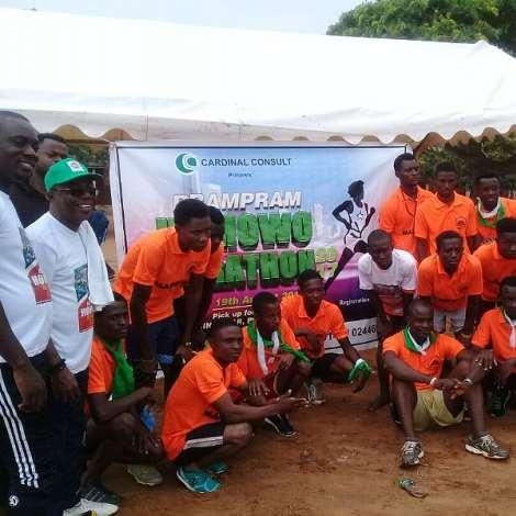 Ningo Prampram Holds Homowo Marathon…as Winner Gets Educational Scholarship