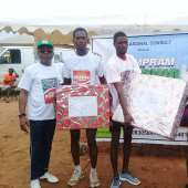 Ningo Prampram Holds Homowo Marathon…as Winner Gets Educational Scholarship