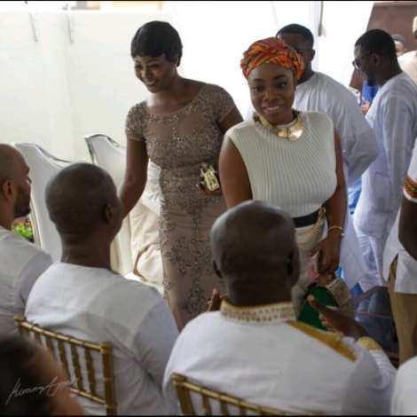 Official Photos from Actress Sonia Ibrahim and Collins Taabazuing Gorgeous Traditional Wedding