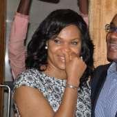 AT SAINT OBI'S SURPRISE BIRTHDAY FOR WIFE, LYNDA