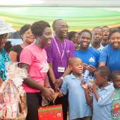 Ms. Stephanie Agyeman, Top 5 Final Delegate Of Miss Malaika Ghana 2014 And Ambassadors For The Autism Campaign Visits The Autism Awareness Care And Training Center