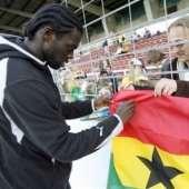 Czech Republic & Ghana Match Pictures