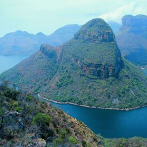 Blyde River Canyon in the Mpumalanga Province