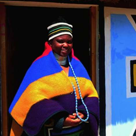 Ndebele woman from the North West Province