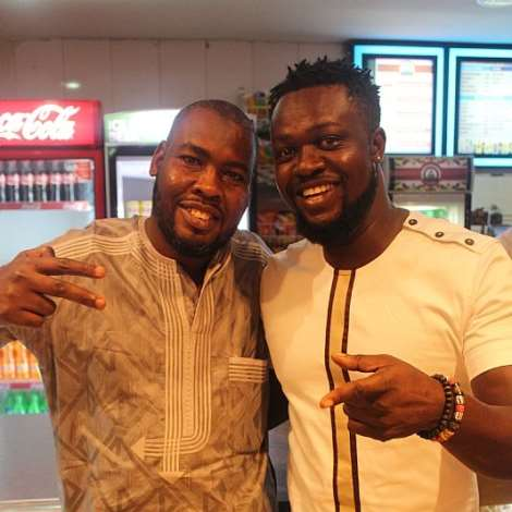 ABDUL SALAM AND EDDIE NARTEY