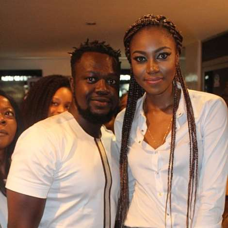 EDDIE NARTEY AND YVONNE NELSON