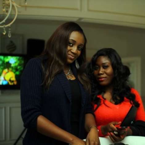 ANITA OMALICHA ISEDEH AND GBEMI OLATERU OLAGBEGI AT THE MTV AFRICA ALL STARS PRESS CONFERENCE (2)